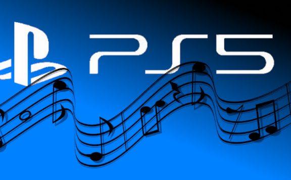 Titelbild PS5 und dynamische Musik