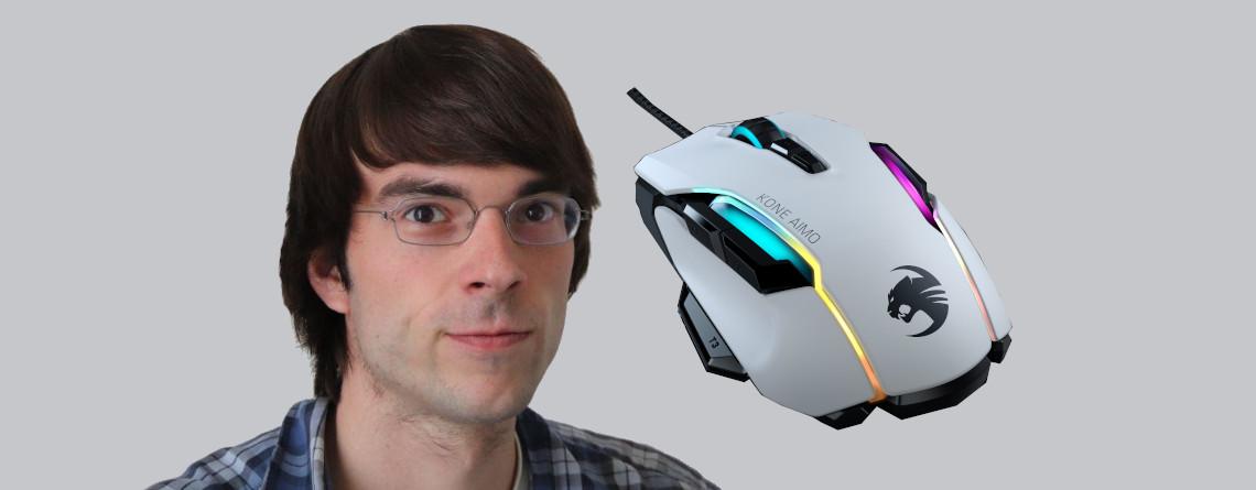 Roccat Kone Aimo Remastered Test – die beste ergonomische Gaming-Maus?