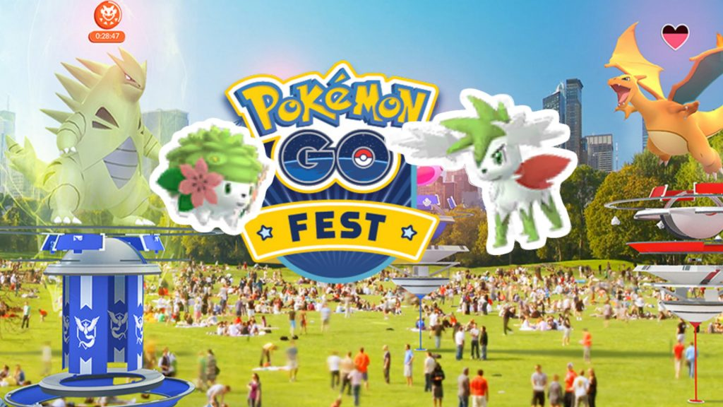 Pokemon GO Fest Shaymin