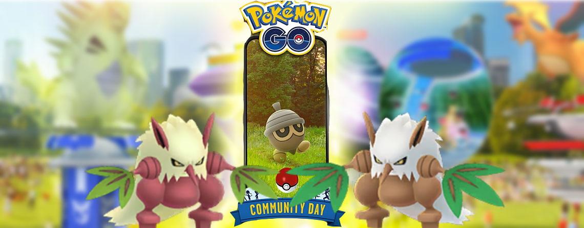Pokémon GO: Tengulist lernt am Community Day Kugelsaat – Lohnt es sich?