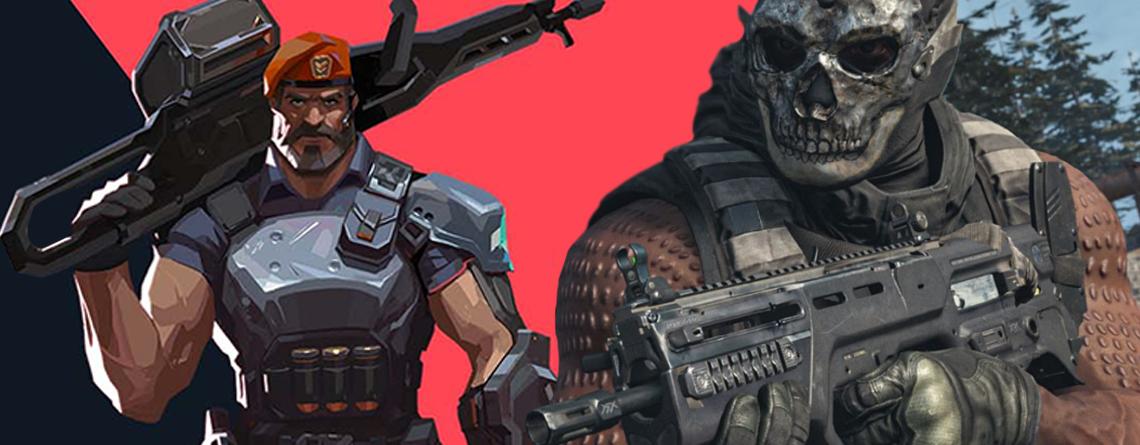 Valorant Modern Warfare Warzone Titel
