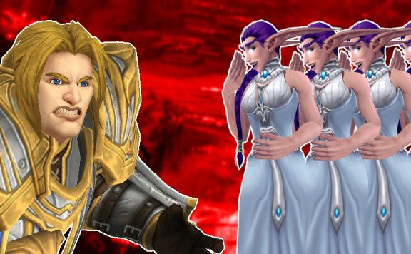 WoW Anduin angry many night elves title titel title 1140x445