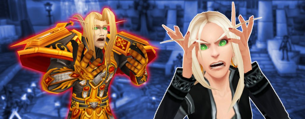 WoW Blood Elf angry female crying male titel 1140x445 title