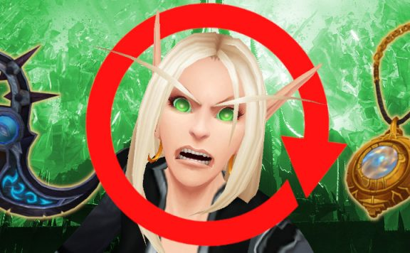 WoW Devils Circle Teufelskreis blood elf angry titel title 1140x445
