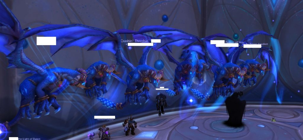 WoW Dragons in Raid Censored