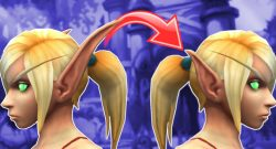 WoW erfüllt Elfen einen großen Wunsch: Lange und kurze Ohren kommen