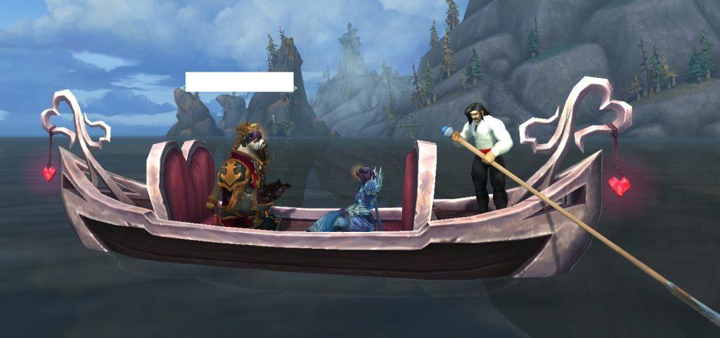 WoW Loveboat Pandaren Draenei