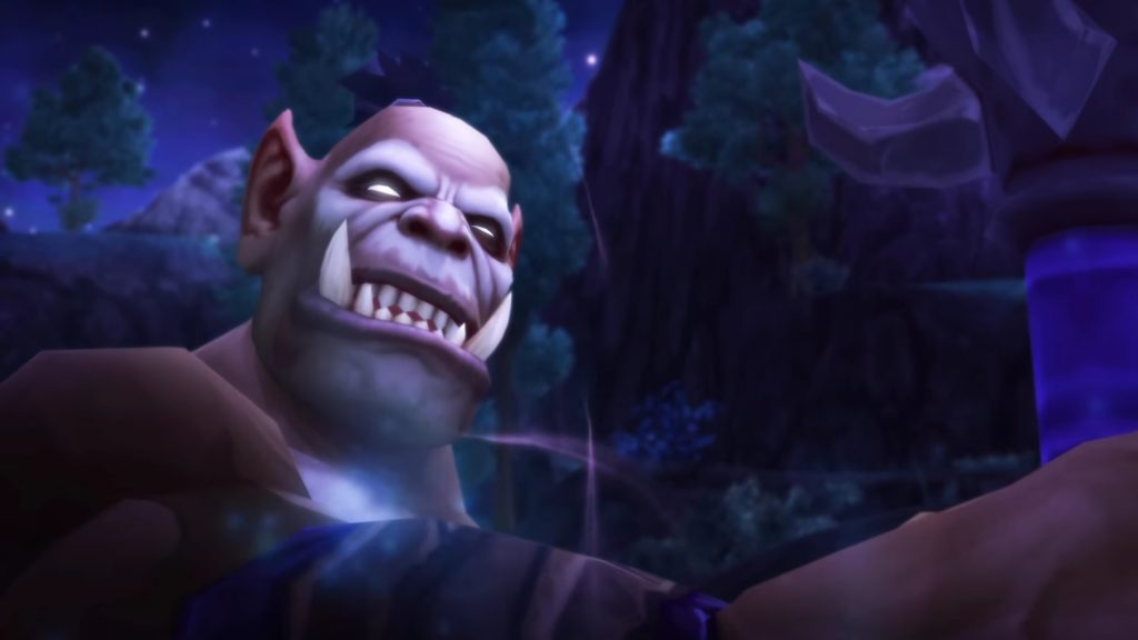 WoW Nerzhul Cinematic Orc Warlord