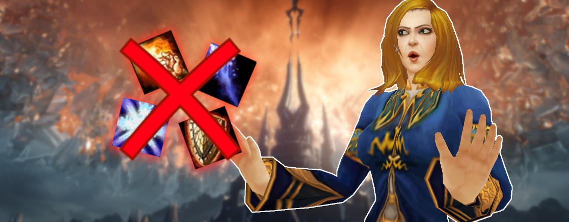 """Die """"alten"""" Fähigkeiten in WoW: Shadowlands sind Mist – Das hat viele Gründe"""