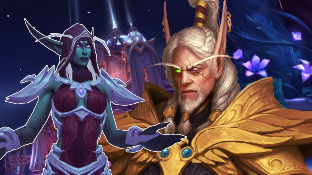 WoW Thalyssra Lorthemar elves in love titel title 1920x1080