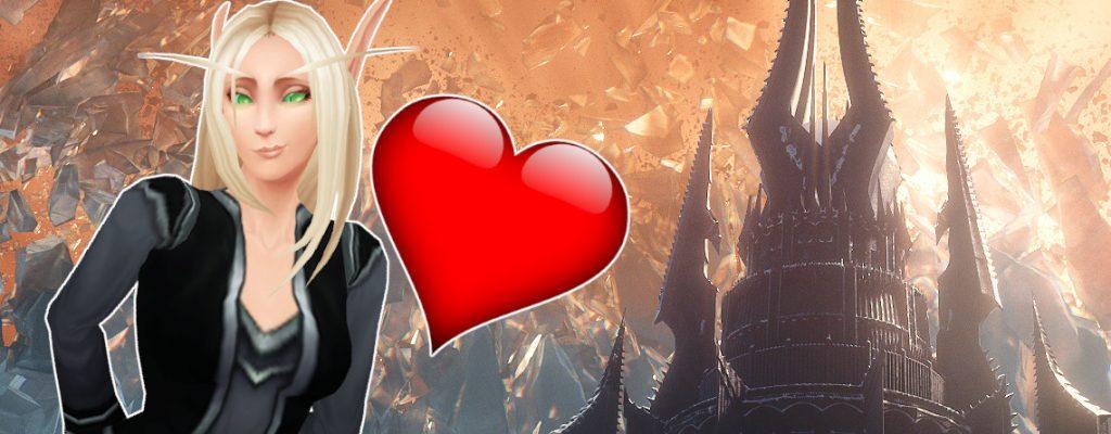 WoW Torghast Love Blood Elf titel title 1140x445