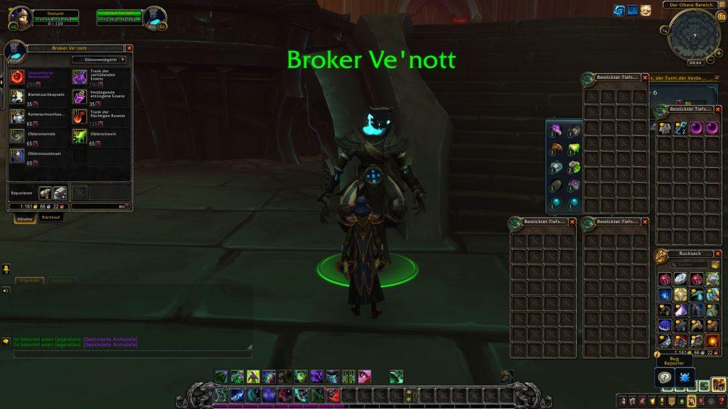 WoW Torghast Trader