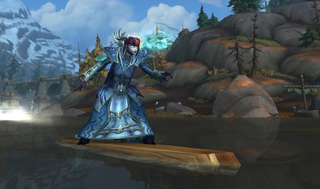 WoW Wave Board Draenei Surf