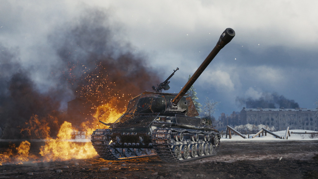 World of Tanks Road to Berlin Panzer Screenshot