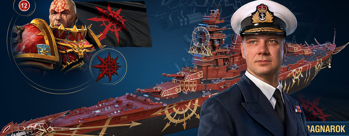 World of Warships bringt Inhalte aus Warhammer 40k – Sehen richtig schick aus