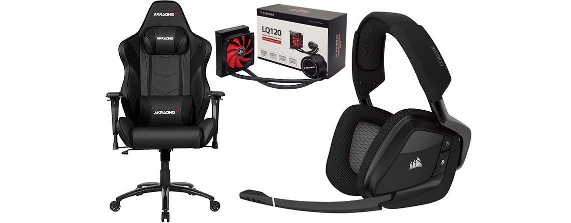 Alternate Angebote: Corsair Gaming-Headset & AKRacing Gaming-Stühle