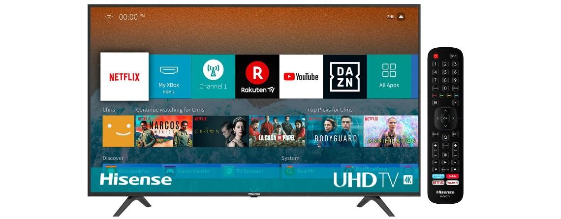Gut bewerteter 4K-TV von Hisense aktuell ab 250 Euro bei Amazon