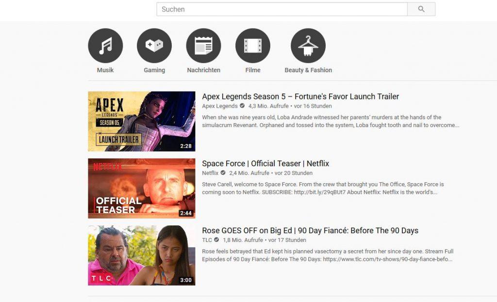 apex-legends season 5 trailer trends youtube