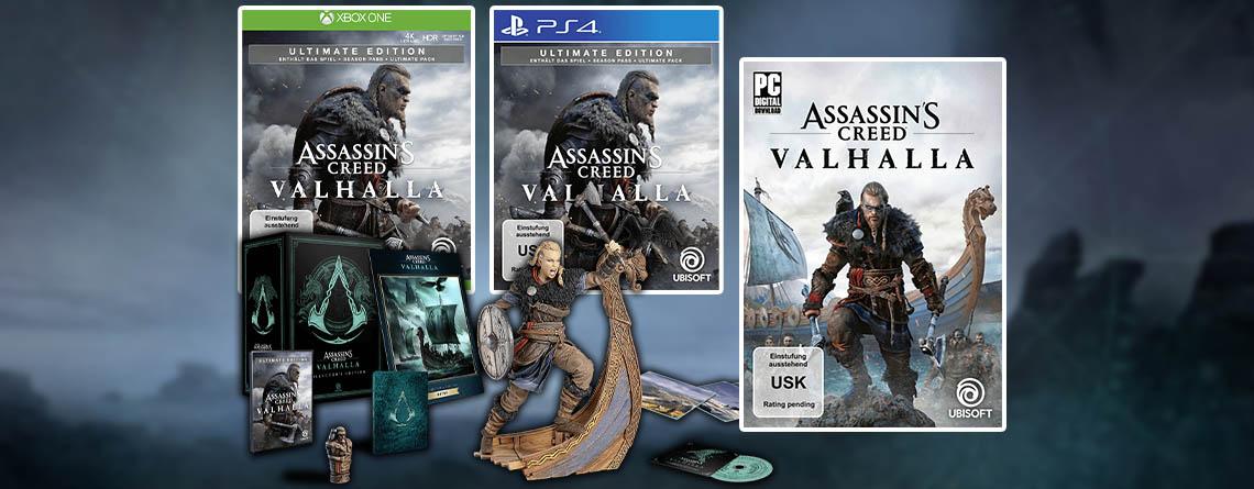 Assassin's Creed: Valhalla – Jetzt Collector's Edition vorbestellen