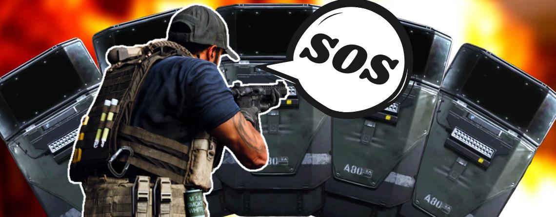 Schild-Trupp in CoD MW lässt Opfer keine Chance – So kontert ihr den Riot-Shield