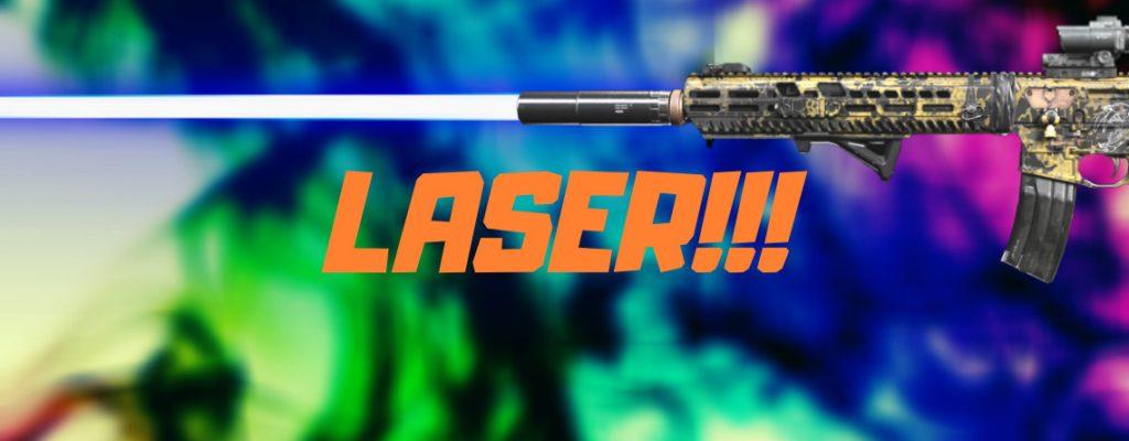 cod warzone m13 laser setup titel