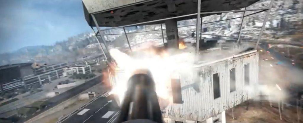 cod warzone trailer minigun juggernaut