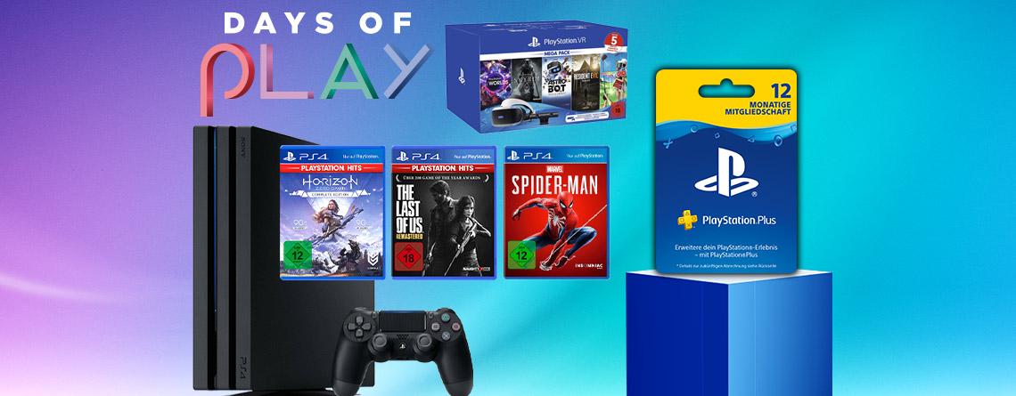 Days of Play 2020: Top-Angebote bei MediaMarkt & Saturn