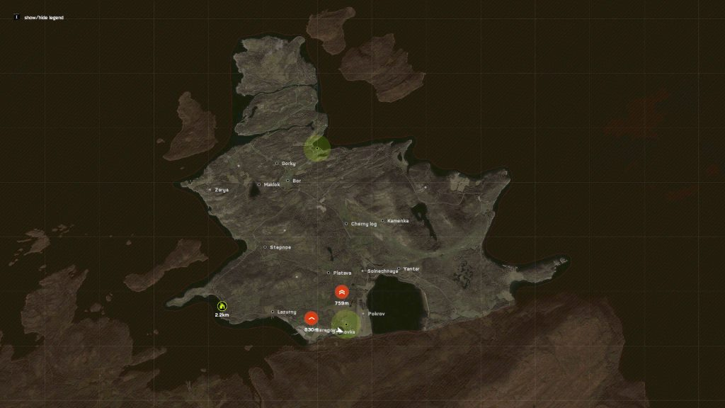 deadside map