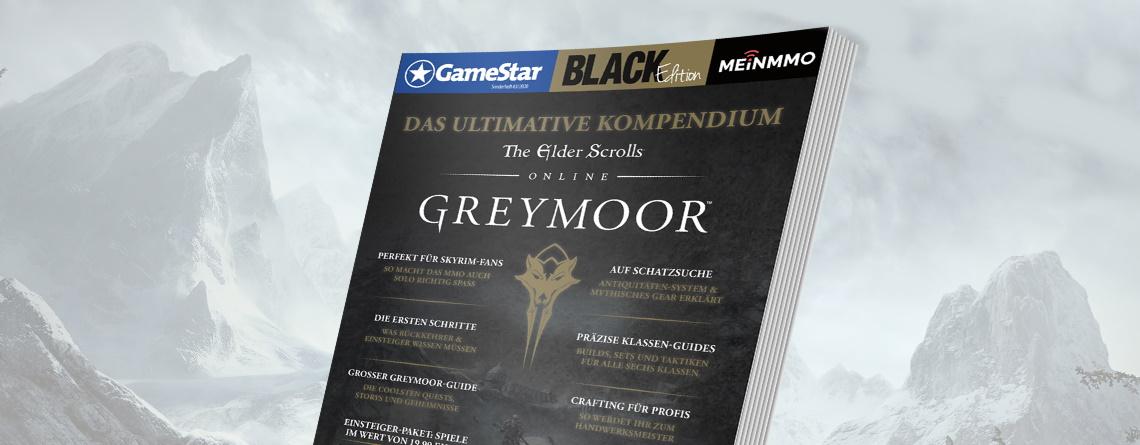 ESO: Schnappt euch unser Sonderheft zu Greymoor – Alles zum Skyrim-MMORPG   Hauptspiel mit Morrowind gratis dazu