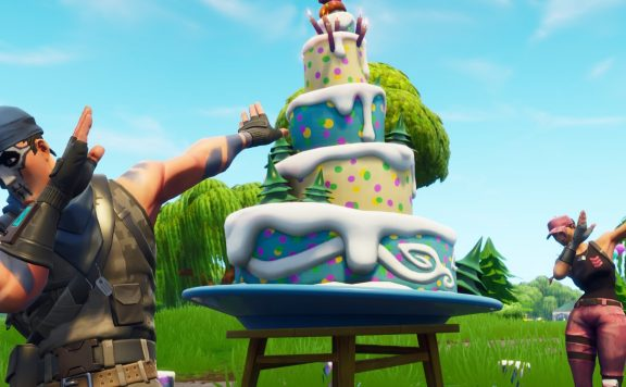 fortnite birthday