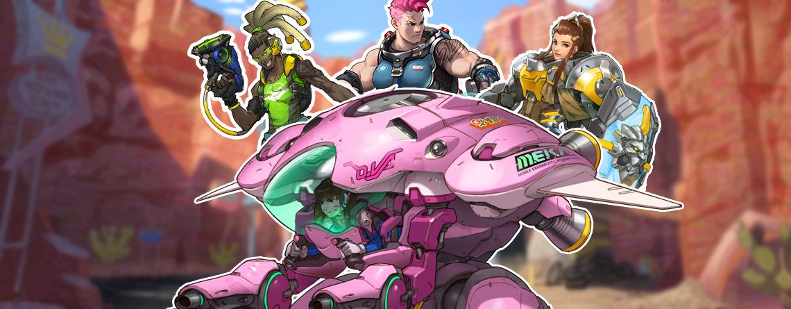 So sieht's aus, wenn 6 Helden in Overwatch zu einem riesigen Monster verwachsen