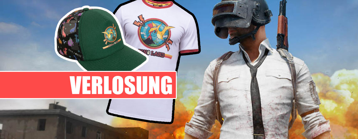 Gewinnt PUBG-Pakete mit coolen Shirts und Caps im Wert von 100€
