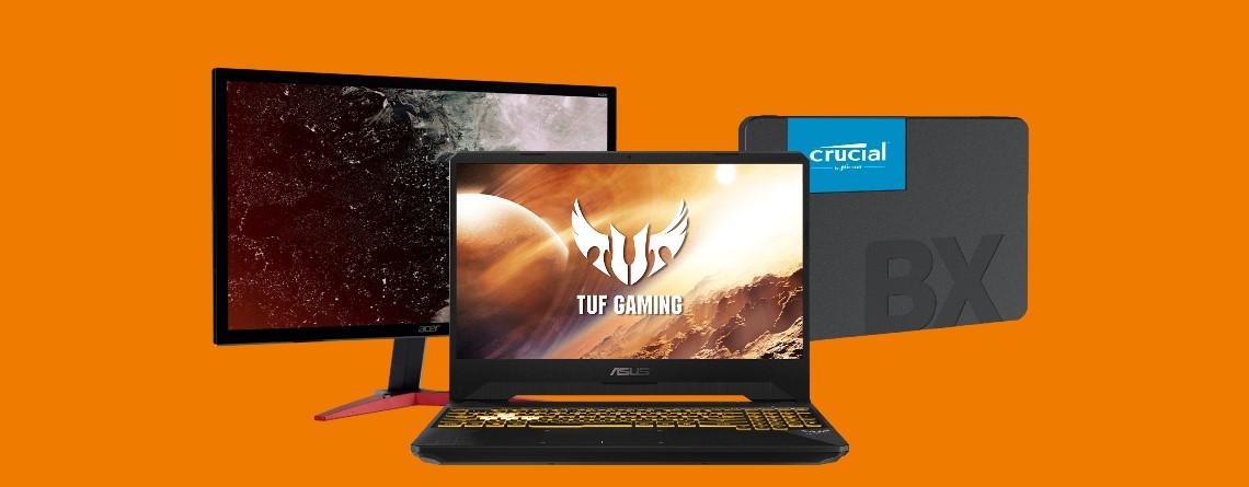 Gaming-Laptops, Monitore, SSDs und mehr reduziert bei Saturn