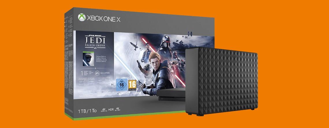 Xbox One X Bundle, externe Festplatte und mehr reduziert bei