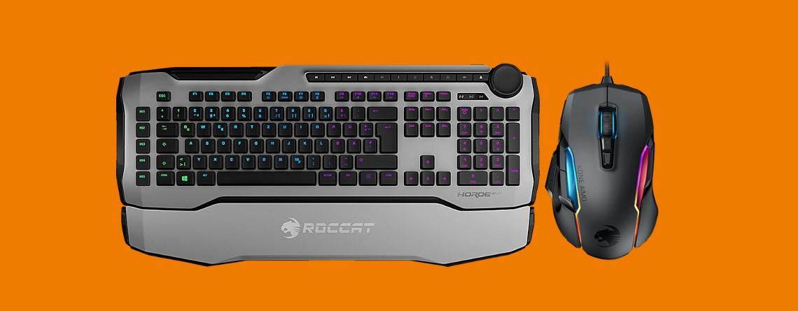 Gute Gaming-Maus und -Tastatur von Roccat zum Bestpreis bei Saturn