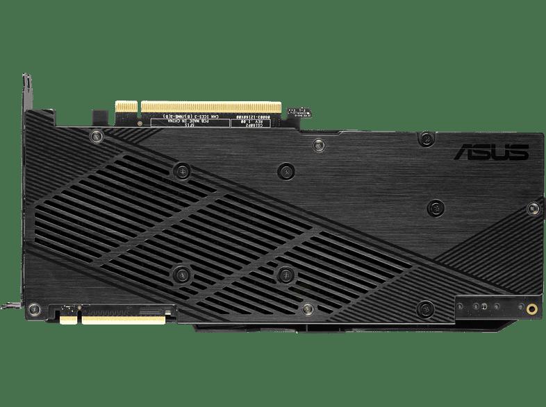 Asus Dual GeForce RTX 2080 SUPER OC Evo Rückansicht