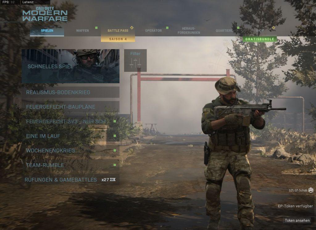 Call fo Duty Modern Warfare Update 16 Juni