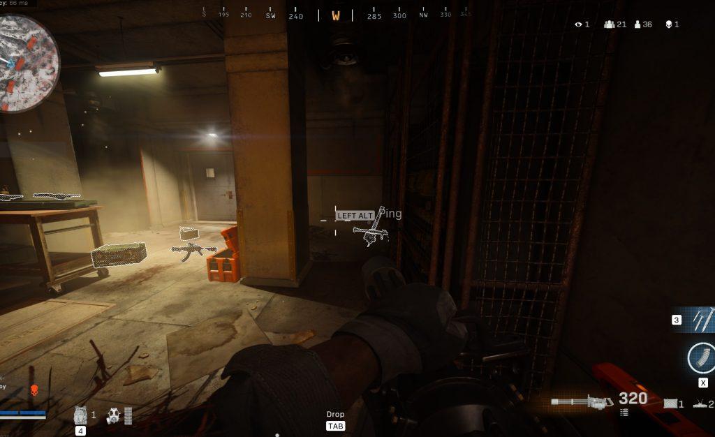 Call fo Duty Warzone Minigun