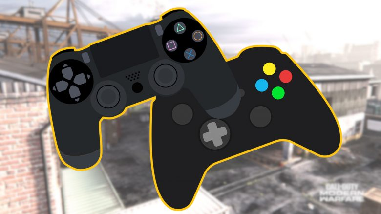 Call of Duty CoD Modern Warfare Warzone Controller Titel