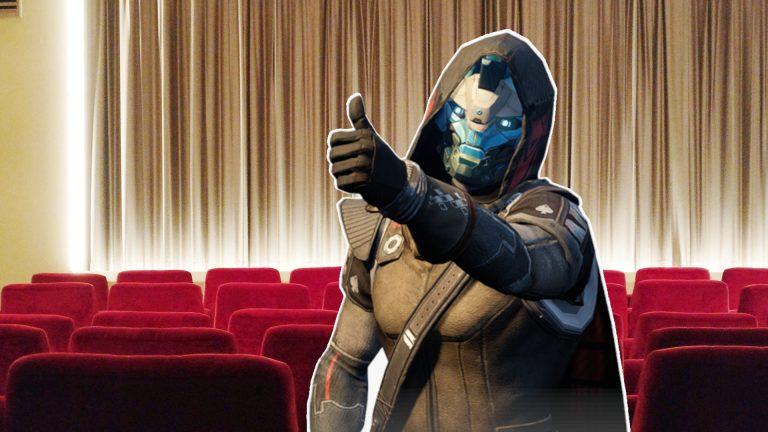 Cinema Video Scene Cayde Titel Destiny
