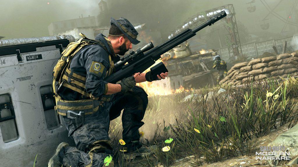CoD AW Sniper