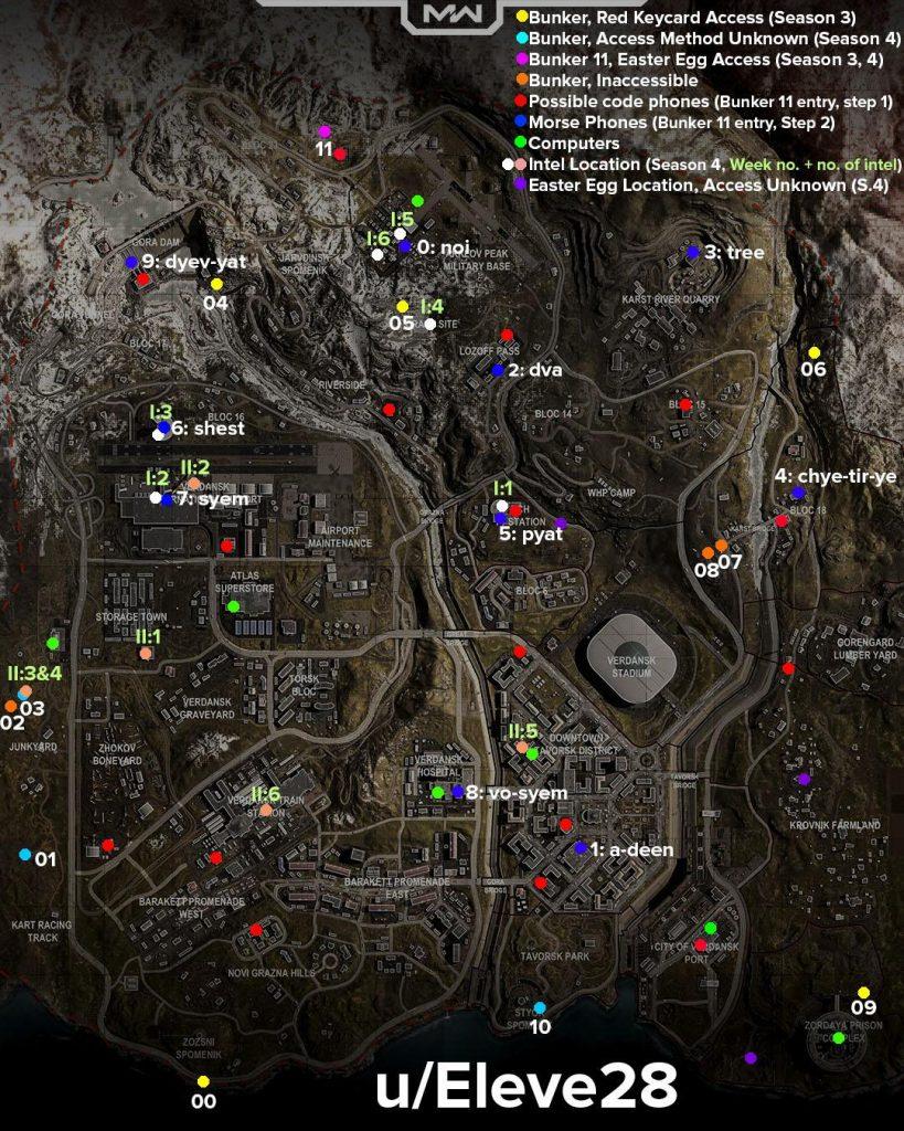 CoD WArzone Map für Alles Season 4