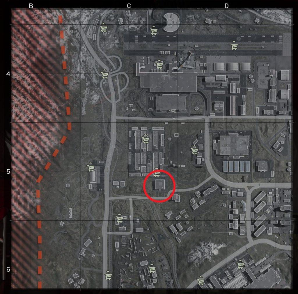 CoD Warzone Map Jagd auf den Feind 1