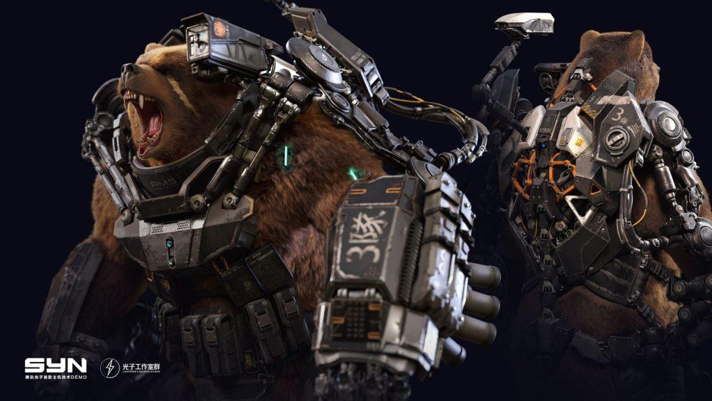 Codename SYN Cybernetic Bear