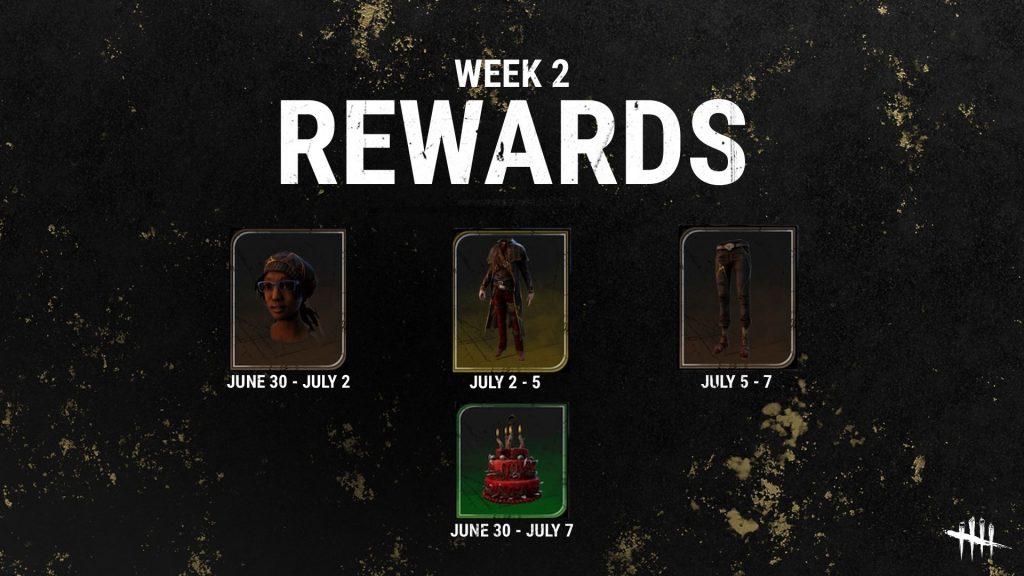 DbD Anniversary Rewards 2