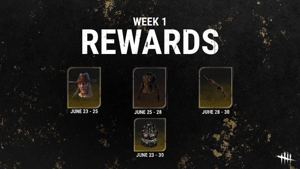 DbD anniversary Rewards 1