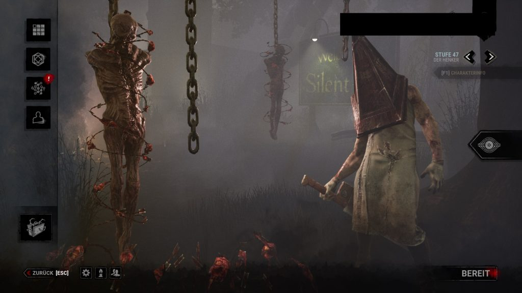 Dead by Daylight Executioner Menupose