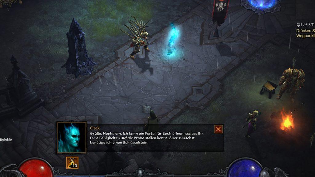 Diablo 3 Unterhaltung NPC