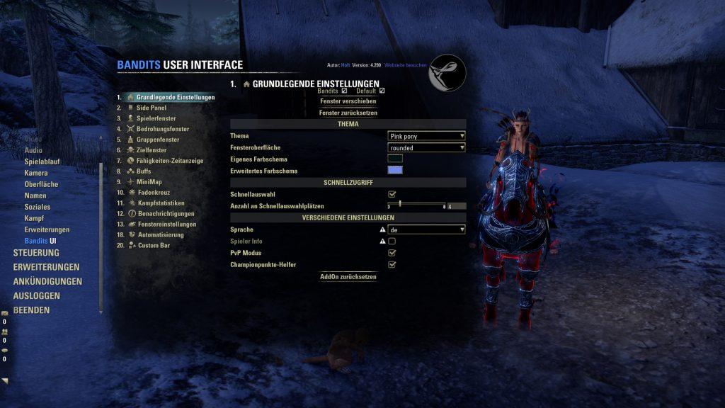 ESO Addon Bandits