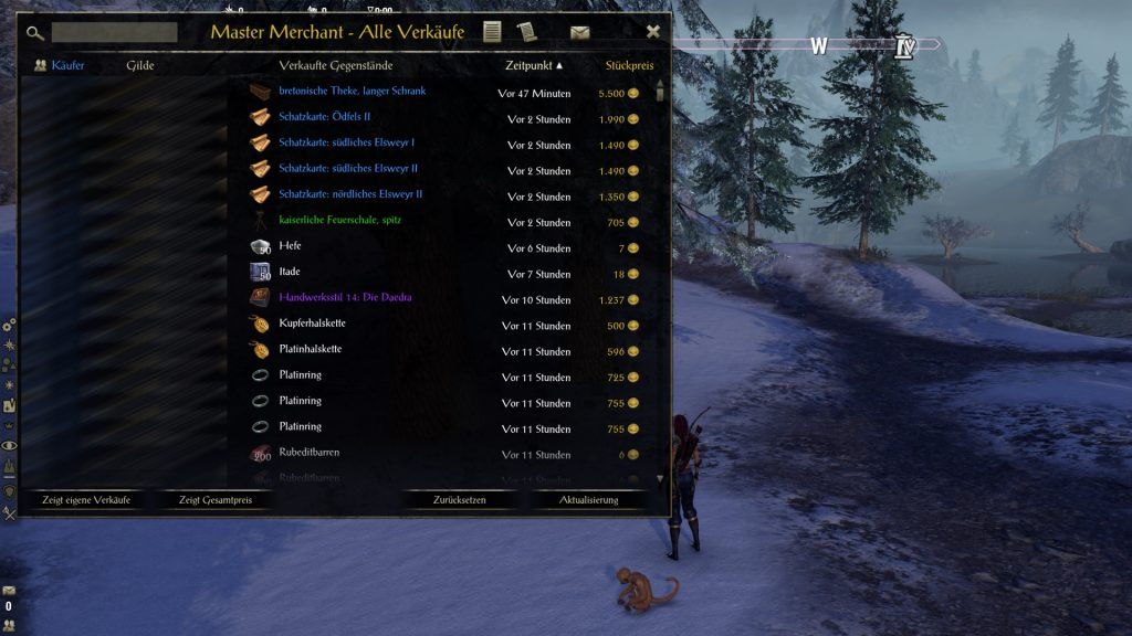 ESO Addon Master Merchant